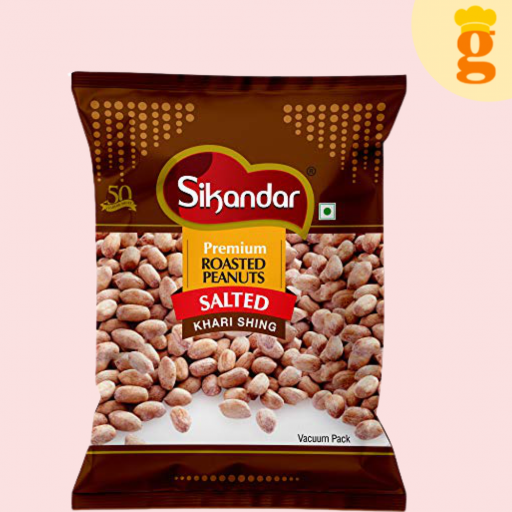 Sikandar Salted Peanut With Husk 500GM