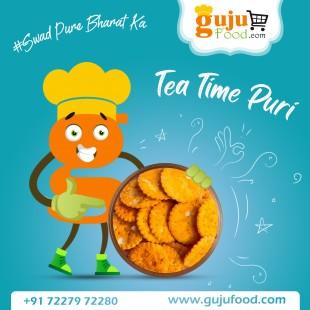 Tea Time Puri (Gujufood Speacial)