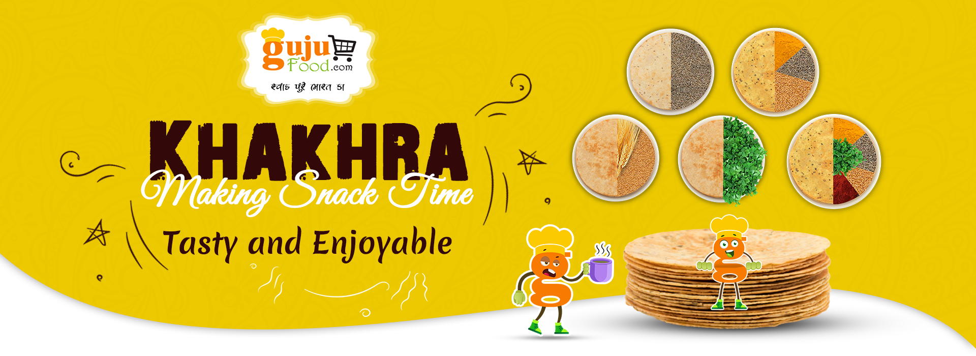Gujufood Special Khakhra
