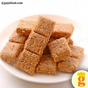 Crushed Peanuts Chiki With Less Jaggery 450 gm