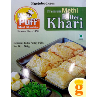 Methi Butter Puff 200GM