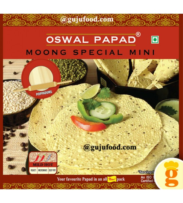 Moong Special Mini Papad  400gm
