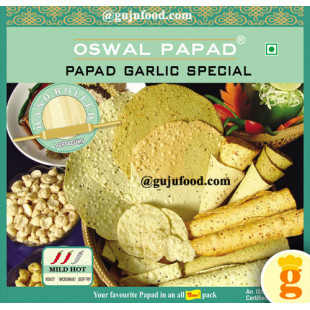 Garlic Special Papad 400gm
