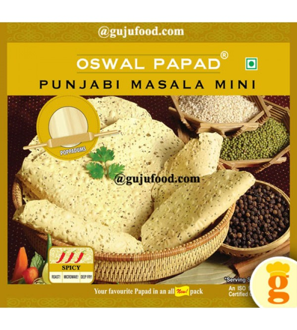 Punjabi Masala Mini Papad  400gm