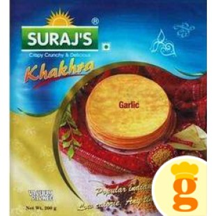 Garlic Khakhra 400GM